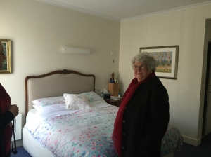 My client inspecting an Aged Care Facility.