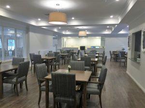 Dining room at Grand Cedar, Ashwood.