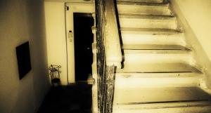 Stairs can make a house unsafe.